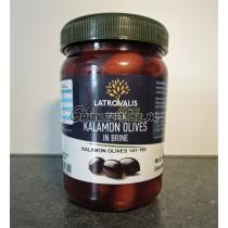 Ontpitte Kalamata olijven in pet vaatje 400 gram (ontpit)
