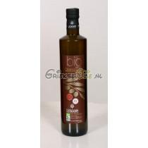 Biologische Extra Vergine Olijfolie uit Kreta 0.75 liter in fles - oogst 2017-2018