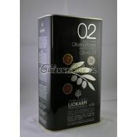 0.2 Extra Vergine Olijfolie uit Kreta met extra lage zuurgraad - 3 liter blik