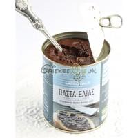 Echte Griekse olijvenpaté in 800 gram blik