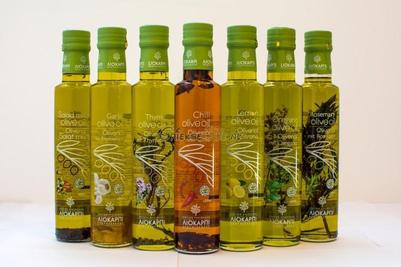 Gekruide Extra Vergine Olijfolie voor Mediteraanse Salade