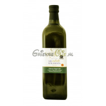 Extra Vergine Olijfolie uit Kalamata 1 liter in glazen fles - oogst 2020-2021