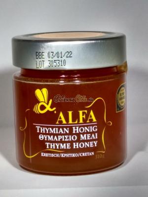 Alfa Honing uit Kreta - Thijm - 310gr