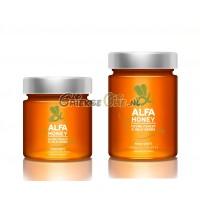 Alfa Honing uit Kreta - Thijm en Wilde Kruiden - 450gr