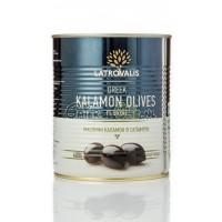 Echte Kalamata olijven (met pit) in blik 400 gr